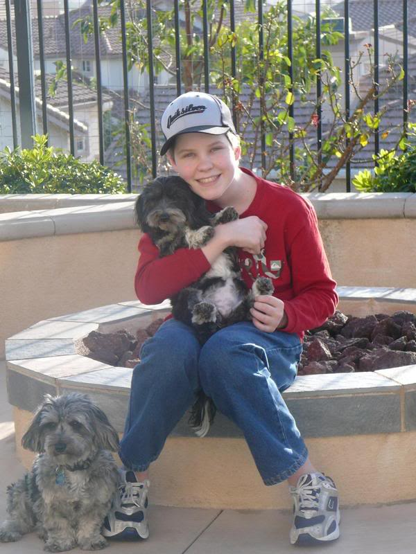 Christian With the Dogs #2